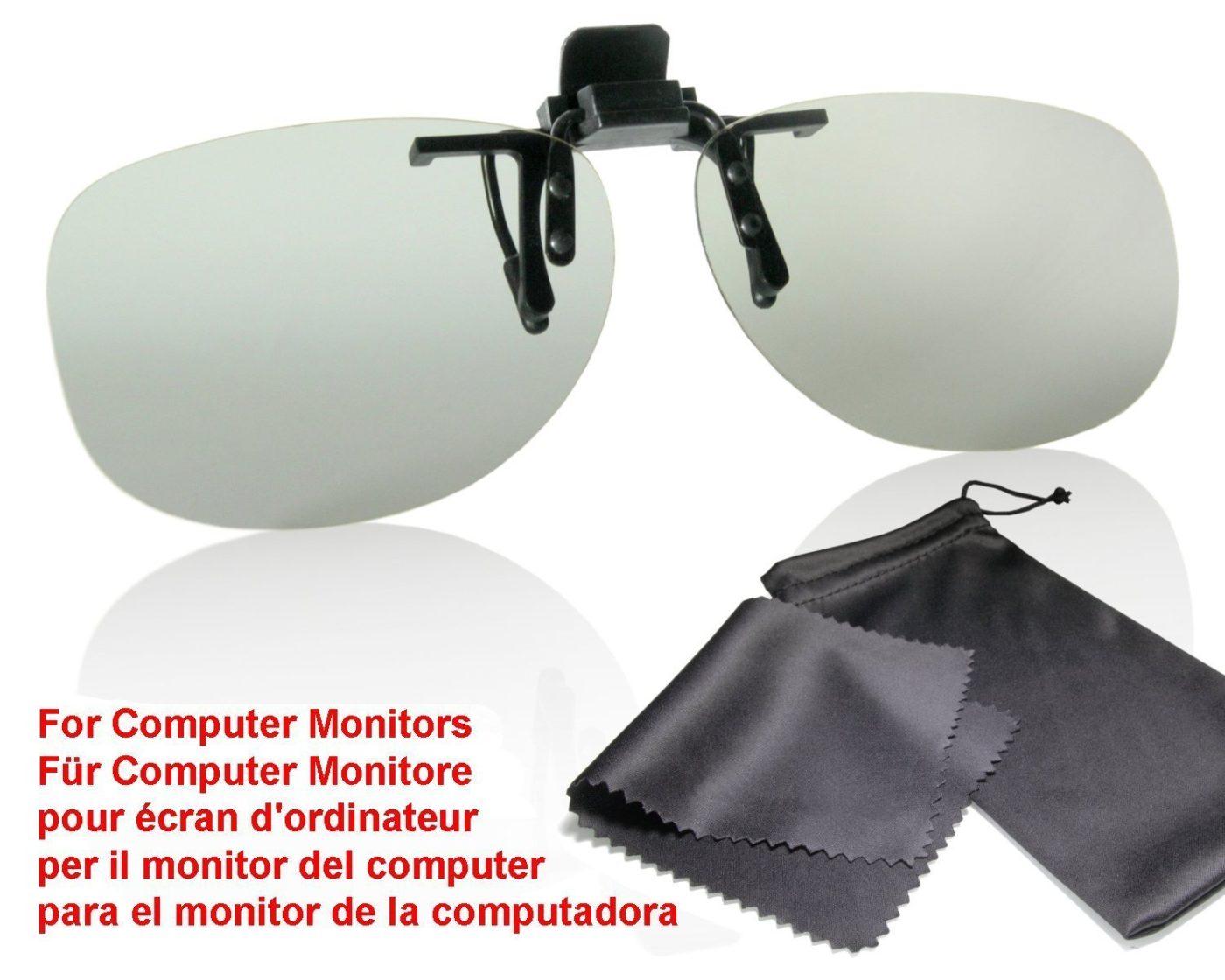 10D MONITOR BRILLEN CLIP FÜR COMPUTER-MONITORE
